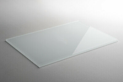 Gastfreundlich Lacobel Farbglas Color-glas Deko 6 Mm Weiss Pure White Wunschmaß