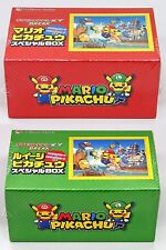 Pokemon Card Game XY Break Mario & Luigi Pikachu Special Box Set JAPAN OFFICIAL