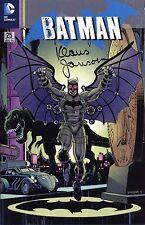 Batman #25 (alemán) steampunk-Variant lim. + signed Klaus Janson Erlangen 2014