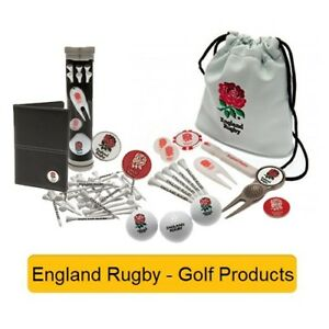 0dab3eaa9f8a Image is loading ENGLAND-RUGBY-GOLF-PROD-Official-Football-Merchandise-Gift-