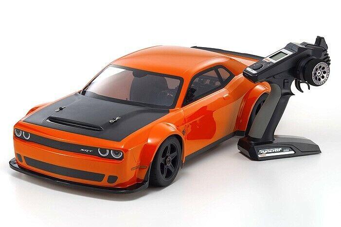 Kyosho Inferno GT2 ve Dodge Challenger SRT demonio ir Mango-KYO34107