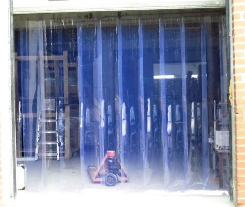 PVC Streifen Vorhang Lamellen  Kunststoffvorhang Pferde  Lagervorhang Lagertor