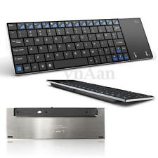 Slim 2.4GHz Wireless Mini Keyboard Touchpad for TV Box HTPC Windows Android PC