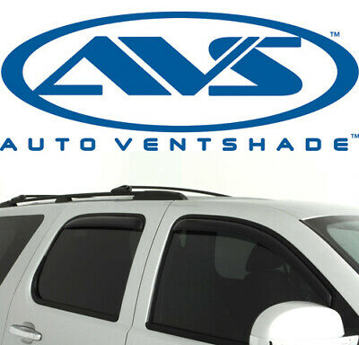 Fits Tahoe Yukon Auto Ventshade 194514 Ventvisor In-Channel Deflector 4 pc