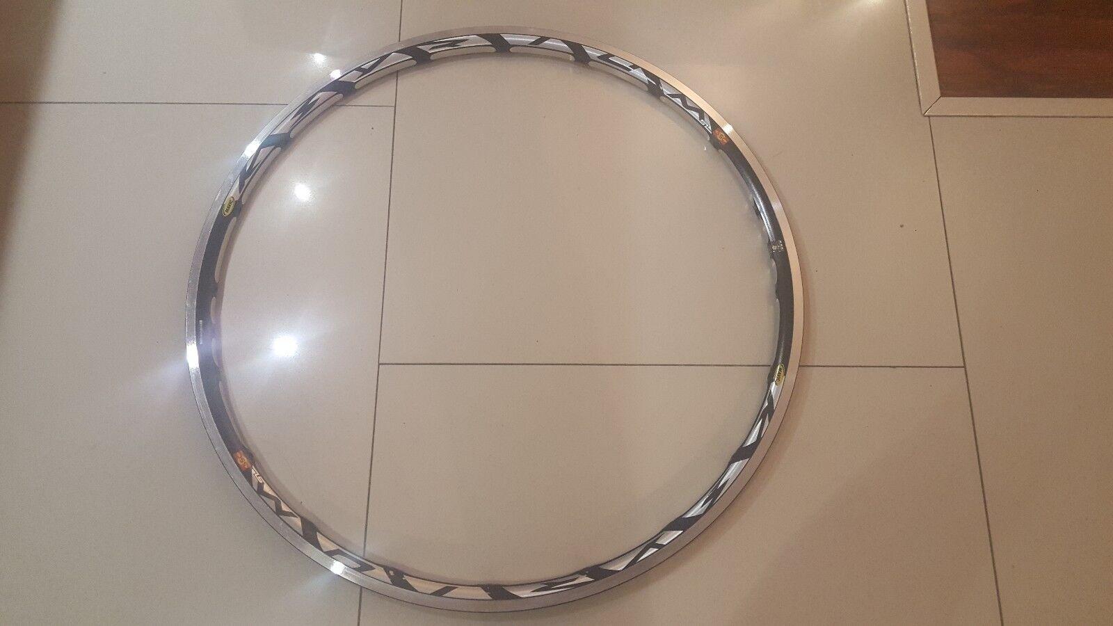 NEW Mavic Ksyrium SL SSC Front Rim 18 holes Tubular