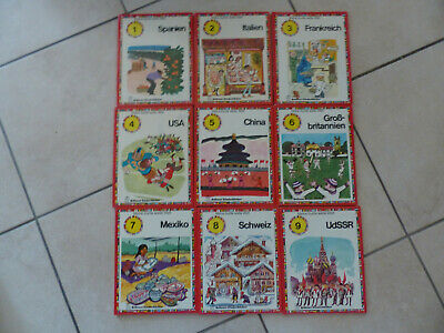 9x Brönner Kinderbücher Meine Bunte Weite Welt Schweiz Mexiko China Usa Italien