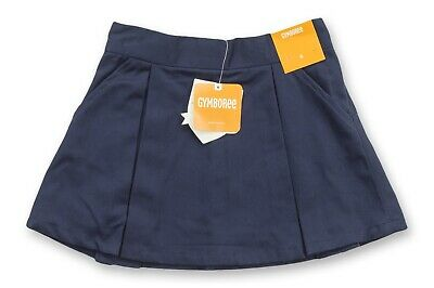 Gymboree Kids Clothes Sizes 4T S 5-6 Casual Stretch Navy Blue Girls Skirt