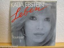 """★★ 7"""" - KATJA EBSTEIN - Leben - Traumzeit - Ariola 1982"""