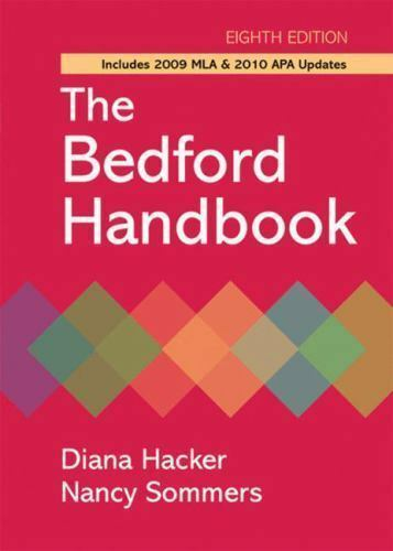 The Bedford Handbook with 2009 MLA and 2010 APA Updates by Diana Hacker, Nancy