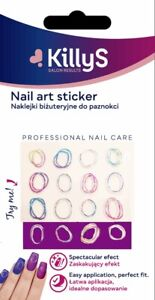 KillyS art nail stickers Ombre Circle