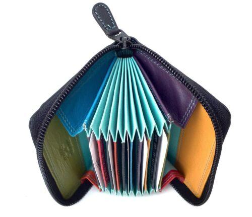 Golunski In Pelle Multi Colore Concertina titolare della carta di credito in colori alla moda