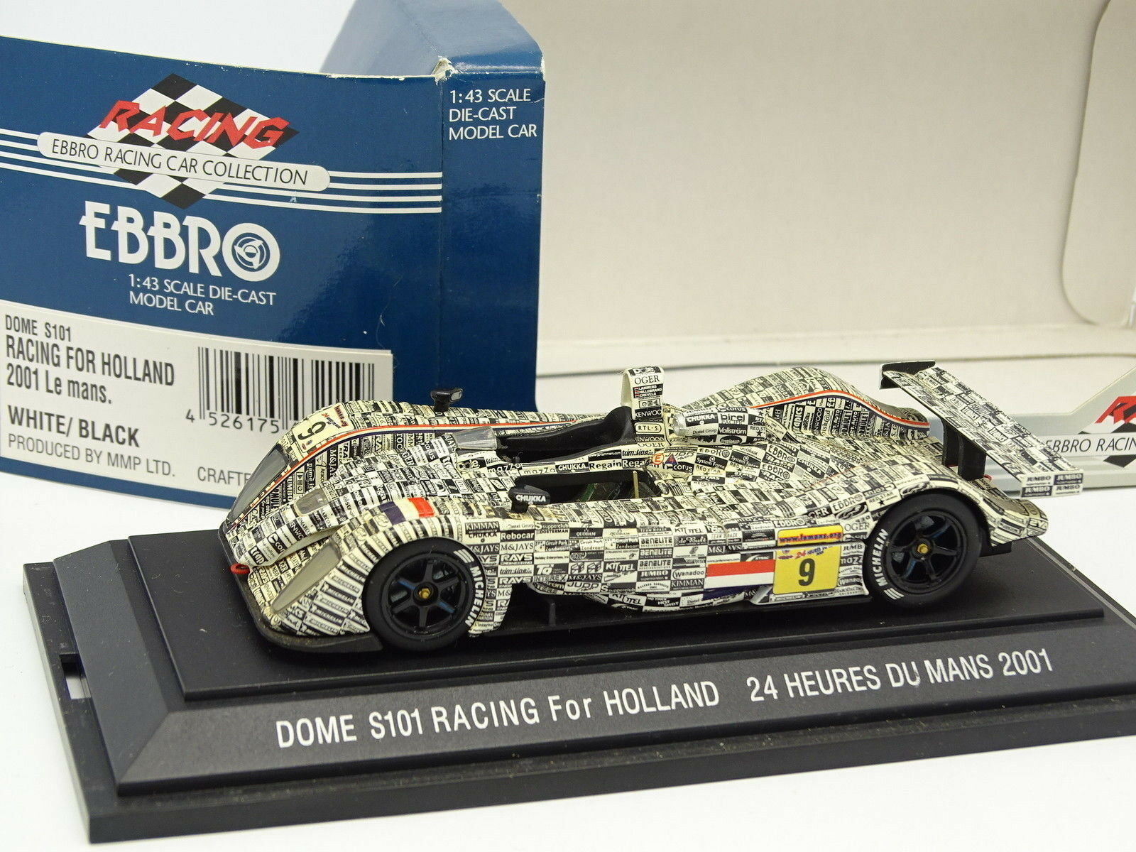 Ebbro 1 1 1 43 - Cupola S101 Corsa Holland Le Mans 2001 No.9 0c1da2