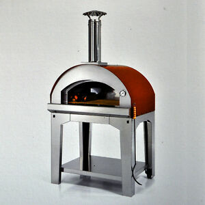 pizza oven margherita 80x60 mobile pizza oven for garden patio and balcony ebay