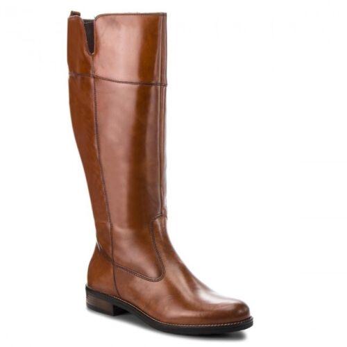 Elastic 25542 Gusset Dark Zip Inside Tan Womens Tamaris Leather And Boots Riding 8qTdAq7