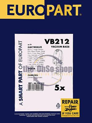 Poussière Sacs Pour Electrolux Powerplus Aspirateur Hoover Z4435 Z4499 Z4496