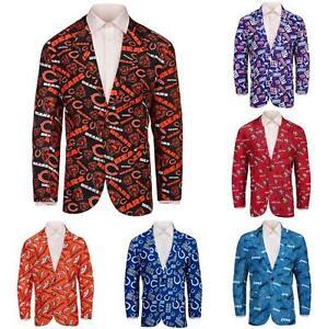 NFL-Football-Mens-Team-Logo-Repeat-Business-Jacket-Pick-Team