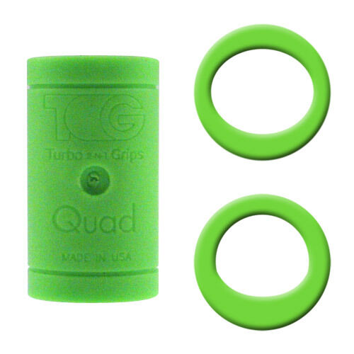 Power Ovals New Turbo Quad 4n1 Bowling Finger Insert Grip 45//64 Green Perfect