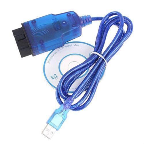 VAGCOM USB KKL Cable For AUDI Volkswagen OBD2 OBDII Car Diagnostic Scanner UP