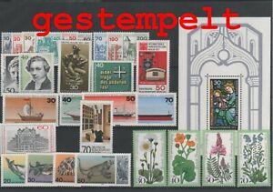 Germany-Berlin-vintage-yearset-1977-Postmarked-Used-complete-More-Sh-Shop