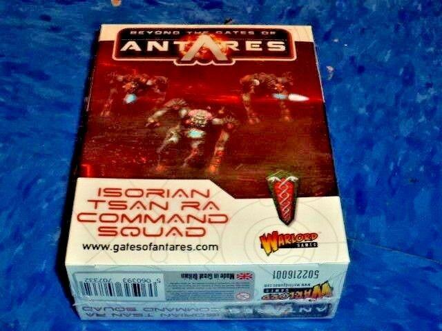 Isorian Tsan Ra Command Squad Beyond the Gates of Antares Warlord Games New