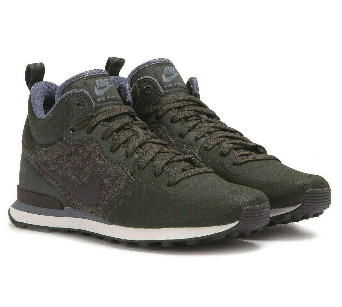 presenting more photos top fashion Nike Internationalist Utility Sequoia Velvet Brown 857937 301 Mens Shoes