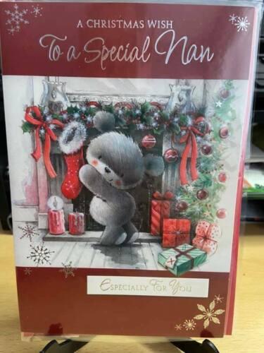 Pour une Spéciale Nan ~ Carte de noël ~ A Christmas Wish