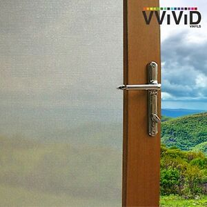 Fine Lined Frosted Window Decorative Privacy film DIY matte glass sticker E0101