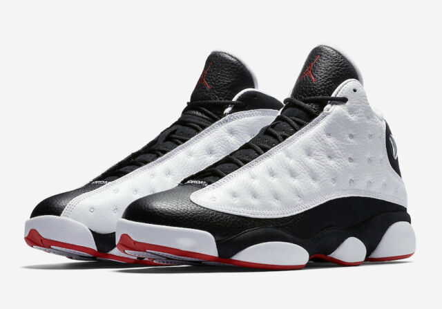 competitive price 2ae24 3b155 Nike Air Jordan Retro 13 He Got Game 2018 Size 10.5-18 White Black  414571-104