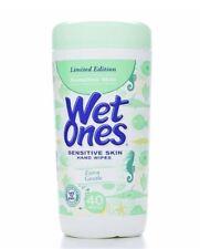 WET ONES Sensitive Skin Moist Wipes Extra Gentle 40 Each (Pack of 6)