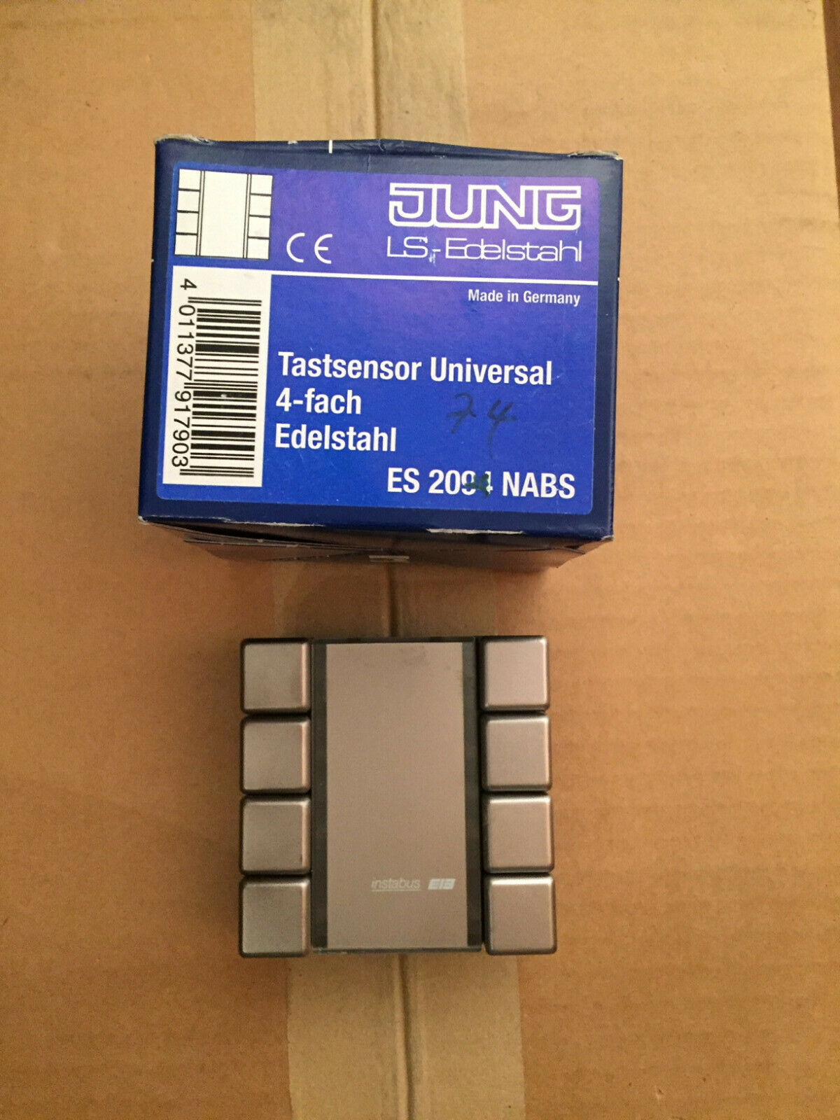 Jung EIB KNX Standart-Tastsensor 2F LS//ES 2072 NABS