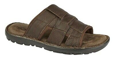 Men's Shoes Methodical Hombre Sandalias De Verano Roamers Zuecos Peep Toe Cuero