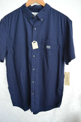 NWT Men/'s Denim /& Supply Ralph Lauren Star-Print Short-Sleeved Shirt