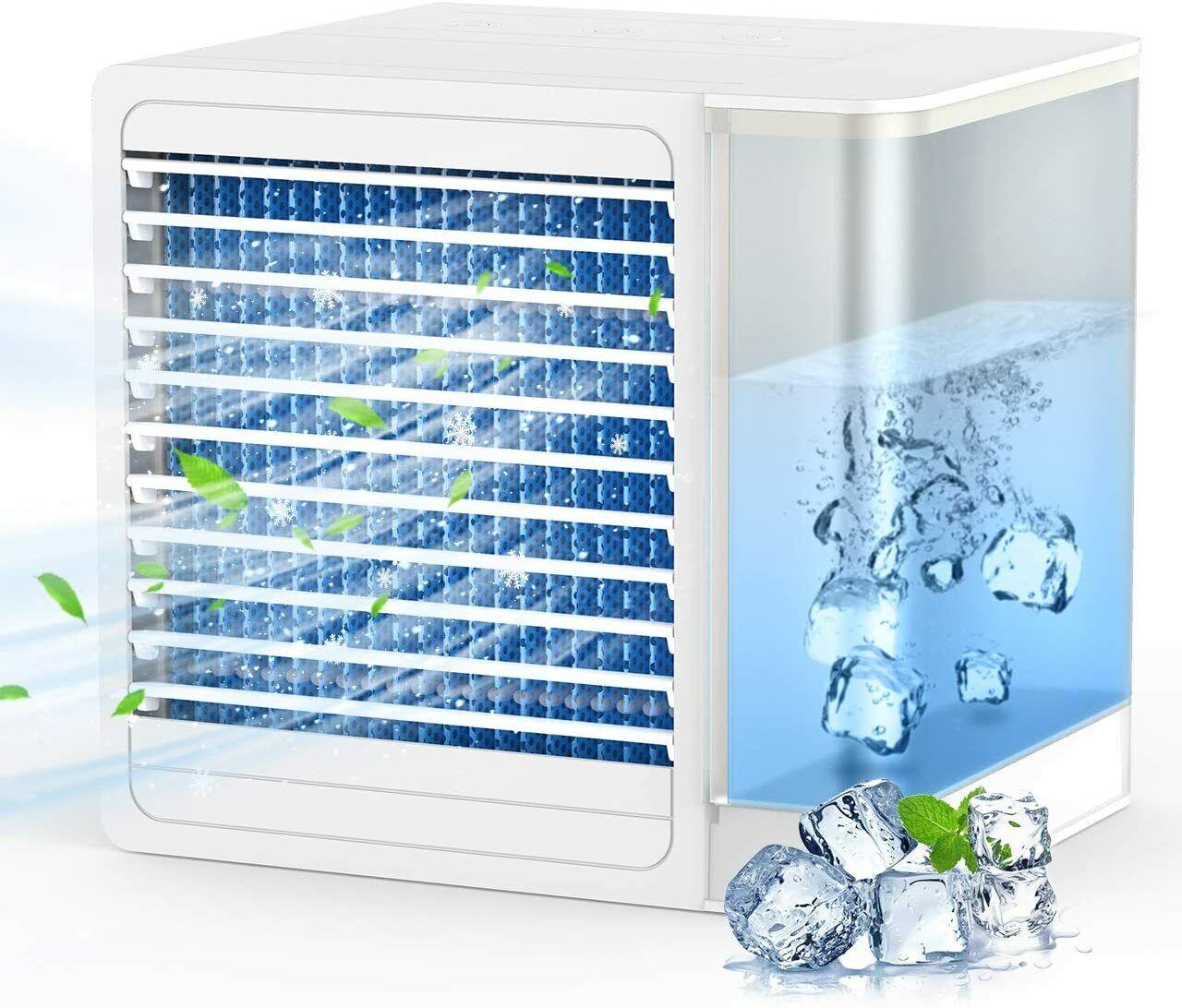 ⭐⭐⭐⭐⭐DESDE ESPAÑA- Enfriador de Aire Ventilador USB de Escritorio Portátil
