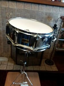 Amical Yamaha Dd 225 Snare Drum Made In England-afficher Le Titre D'origine