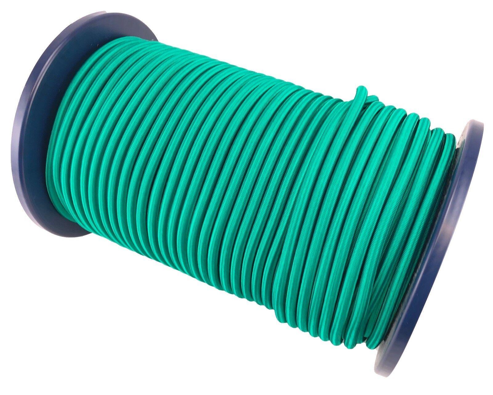 10mm Smaragdgrün Smaragdgrün Smaragdgrün Elastischer Gummizug Seil Gummiseil Festbinden UV Stabil 5e1678
