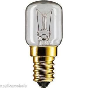 Fits HOTPOINT BEKO 15W E14 SES Fridge Freezer LIGHT LAMP BULB Clear Boxed