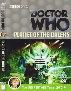 Doctor-Who-Planet-Of-The-Daleks-2-Disco-Edicion-Especial-Jon-Pertwee-Dr-la-BBC