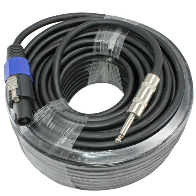 Buy 100 Foot 14 Gauge Professional Speaker Cable 14 To Speakon