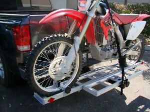 Dirt Bike Motorcycle Carrier Rack Ramp Trailer Hitch