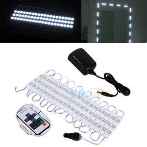 Vanity Light Dimmer : 10ft/5ft White LED Dressing Mirror Cosmetic Makeup Vanity Light + Dimmer + Power eBay