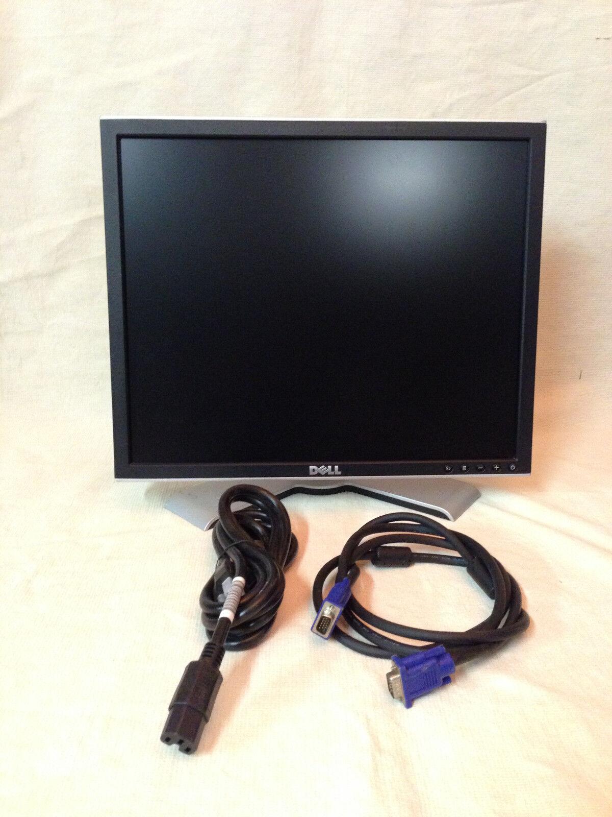 "Dell UltraSharp 1708FPt 17/"" Flat Panel LCD Monitor Display VGA//DVI *Tested*"