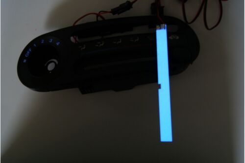 Honda CRX Del Sol Heater control panel glow illumination heat regulation