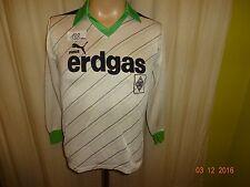 """Borussia Mönchengladbach Original Puma Langarm Trikot 1985/86 """"erdgas"""" Gr.S"""