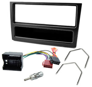 Radioblende-Adaper-Kabel-Set-Opel-Astra-G-Corsa-C-Zafira-B-Vectra-C-schwarz
