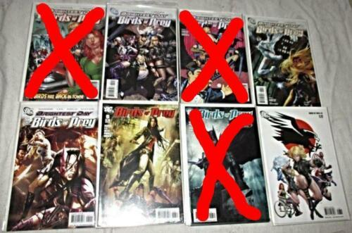 Birds of Prey V.2 U-PICK ONE #2,3,4,5,6 or 8 DC 2010-11 Issues PRICED PER COMIC