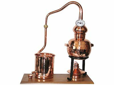 "0,5L Modell /""Alambic Classico mit Thermometer Kratzer auf Brett B-Ware Destille"