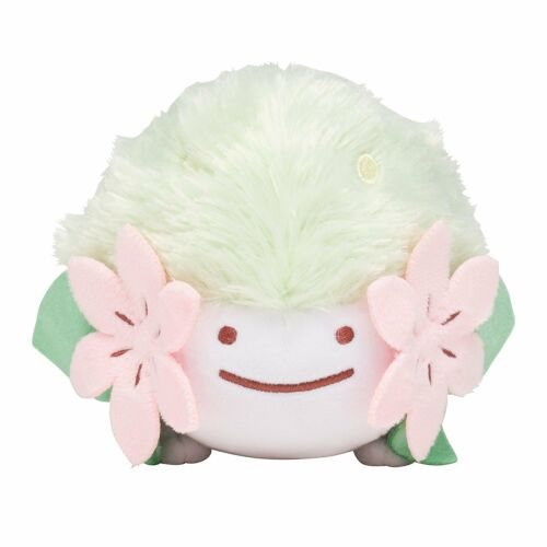 Ditto Shaymin JAPAN IMPORT Pokemon Center Original Plush Doll Transformation