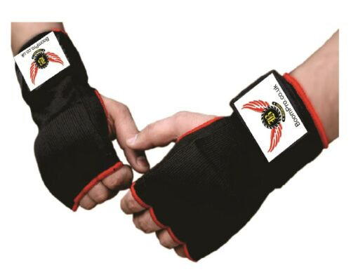 Boxing Inner Gel Gloves MMA Padded Punch Bag Kick Boxing Training Hand Wraps