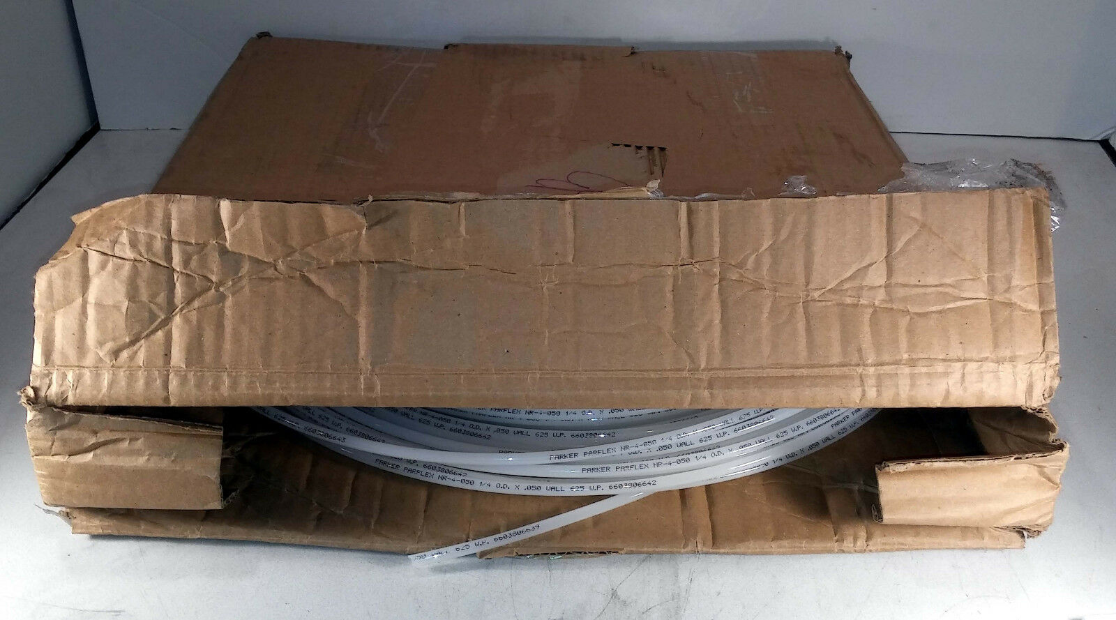 1 nuevo 250' Semi-rígida Rodillo Parker NNR-4-050 Alta Resistencia tubería Semi-rígida 250' de Nylon Nuevo En Caja 522d21