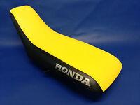 Honda Trx400ex Seat Cover 1999-2007 In 2-tone Yellow & Black (honda Sides)
